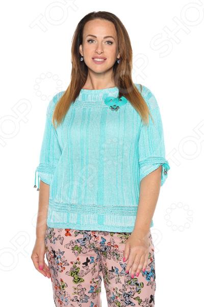 Блуза NOVA STYLE «Сладкие грезы». Цвет: мятный