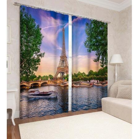 Купить Фотошторы Сирень «Из Парижского окна»