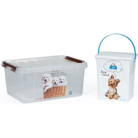 Купить Набор контейнеров для корма Полимербыт SGHPBKP33