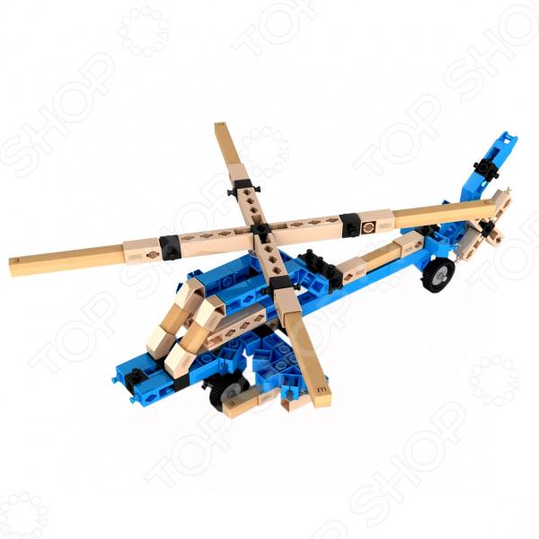 Конструктор игрушечный Engino Eco Builds «Вертолеты» элементы крепежа