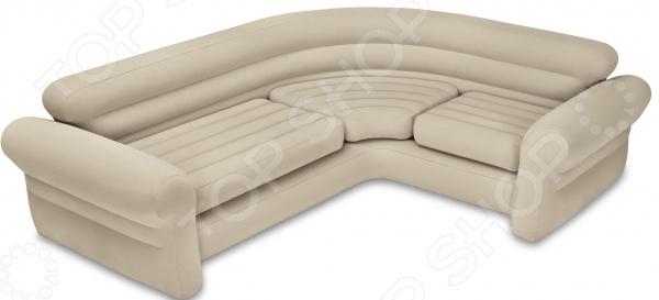 Диван угловой надувной Intex Corner Sofa