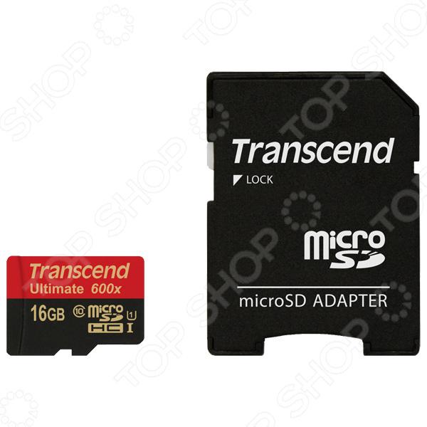Карта памяти Transcend TS16GUSDHC10U1 флеш карта 512 мегабайт mms 1 где в красноярске