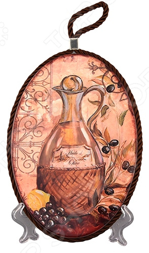 Подставка под горячее Elan Gallery «Оливковое масло» блинница elan gallery оливковое масло диаметр 23 см