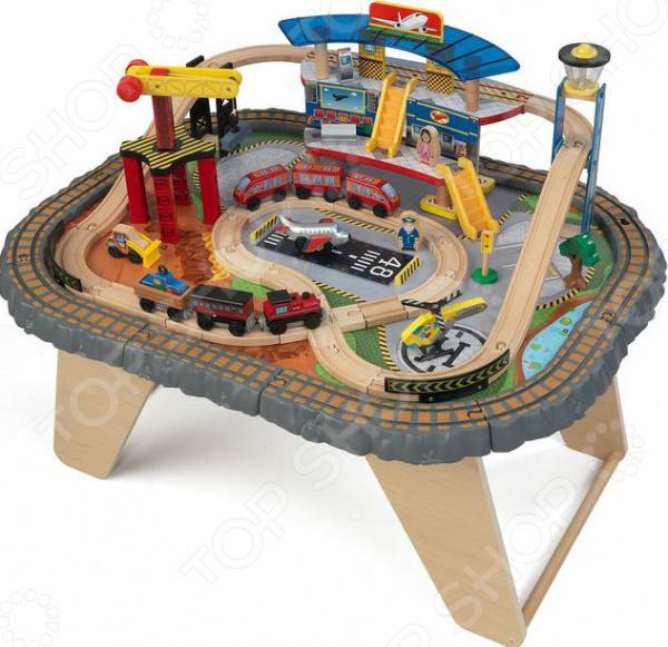Набор игровой для мальчика KidKraft «Транспортный Хаб»