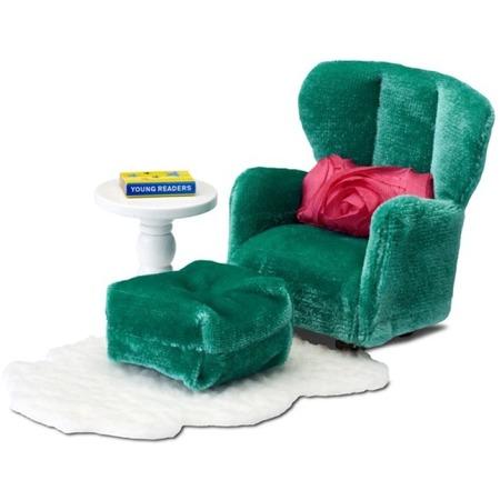 Купить Мебель для куклы Lundby Smoland «Кресло и пуфик»