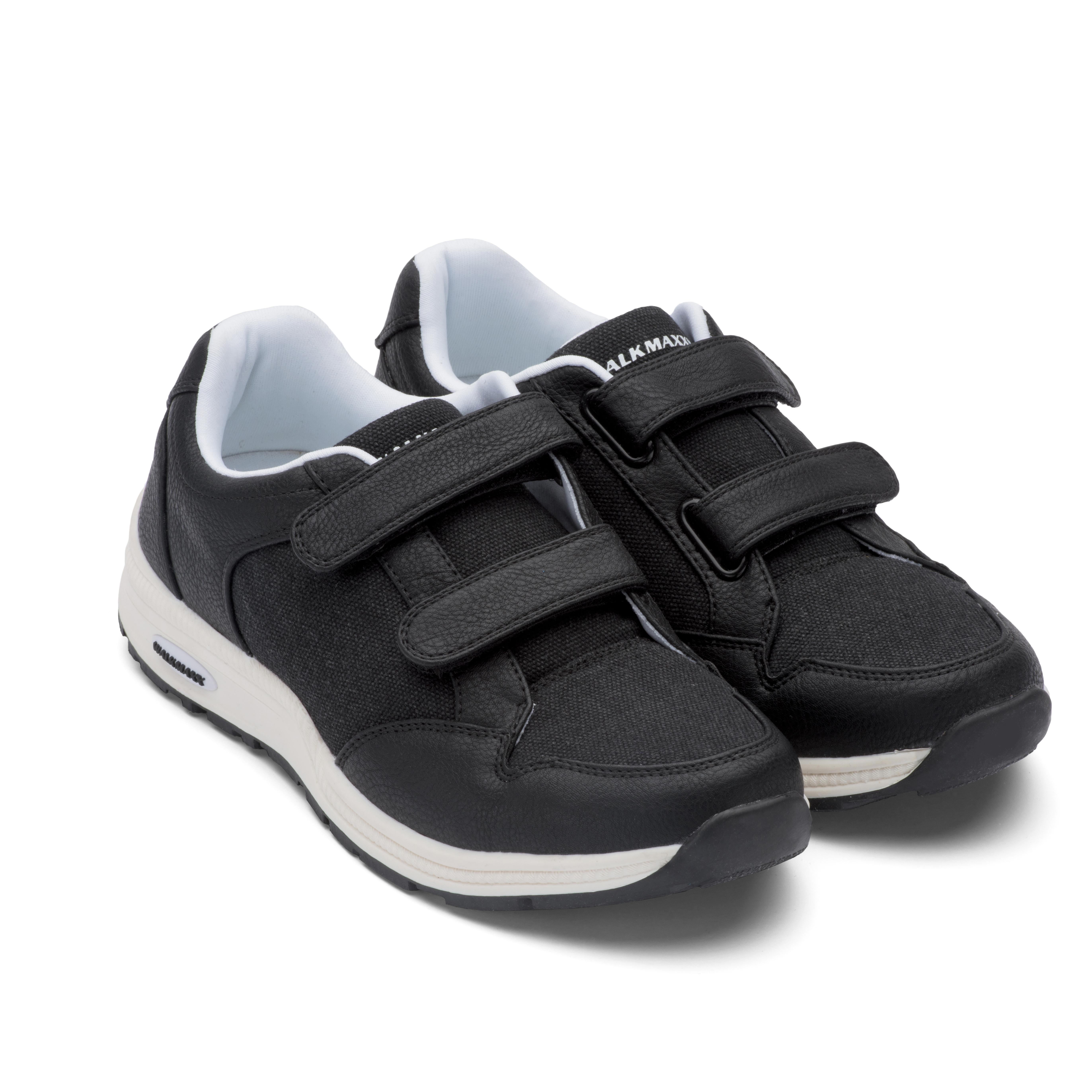 Кроссовки адаптивные Walkmaxx женские. Цвет: черный