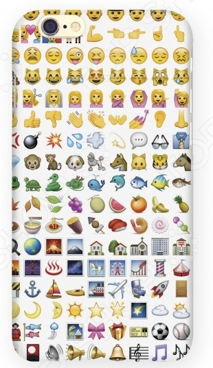 Чехол для IPhone 6 Mitya Veselkov «Эмодзи» mitya veselkov чехол для iphone 6 скандинавская лошадка