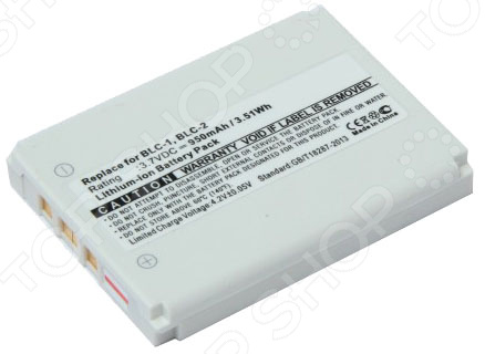 Аккумулятор для телефона Pitatel SEB-TP306 аккумулятор для камеры pitatel seb pv1032