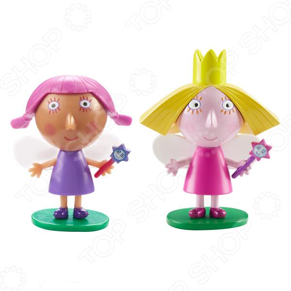 Набор фигурок игрушечных Ben & Holly's «Холли и Вайолет» игровой набор холли и стробери ben