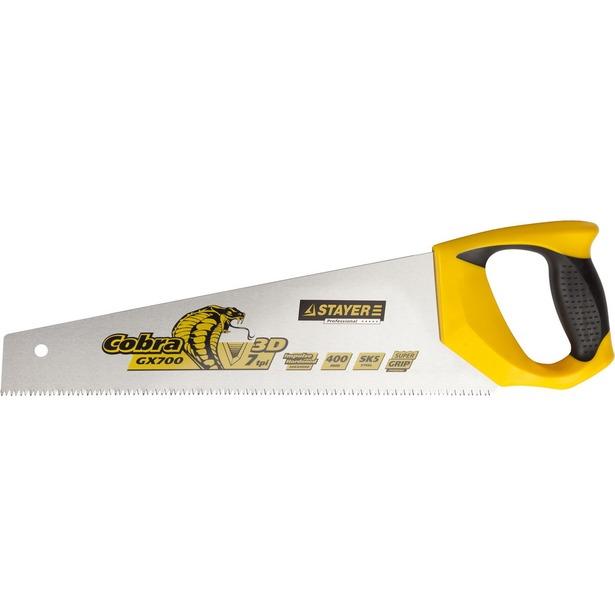 фото Ножовка по дереву Stayer Profi Cobra 1513_z02. Длина лезвия: 400 мм