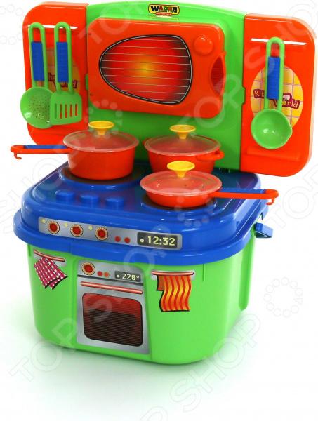 Кухня детская с аксессуарами Wader 40770