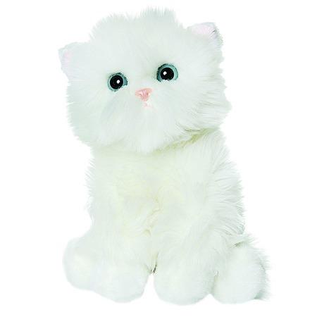 Купить Мягкая игрушка Gulliver «Белый котик-пушистик»