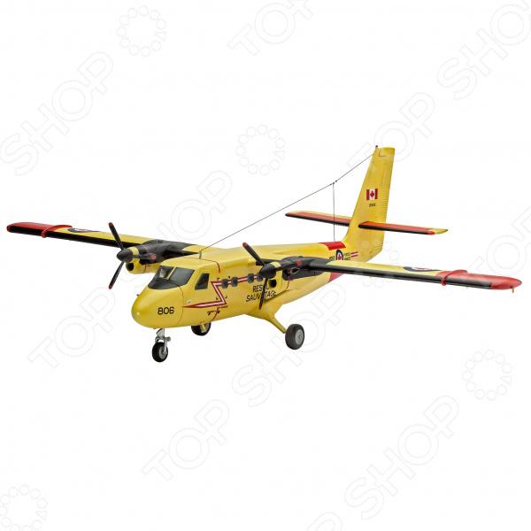Набор сборной модели гражданского самолета Revell DHC-6 Twin Otter самолеты и вертолеты revell сборная модель сборная модель пассажирский самолет dhc 6 twin otter 1 72