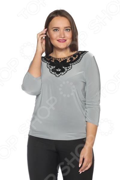 Блуза Pretty Woman «Бархатная мечта». Цвет: серый miu miu бархатная куртка