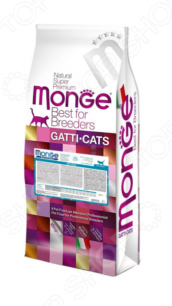 Корм сухой для котят Monge Ricco Di Pollo Kitten комбинезон pollo pollo mp002xc0032p