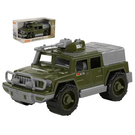 Купить Машинка игрушечная POLESIE «Джип военный. Защитник» №1 с 1-м пулемётом