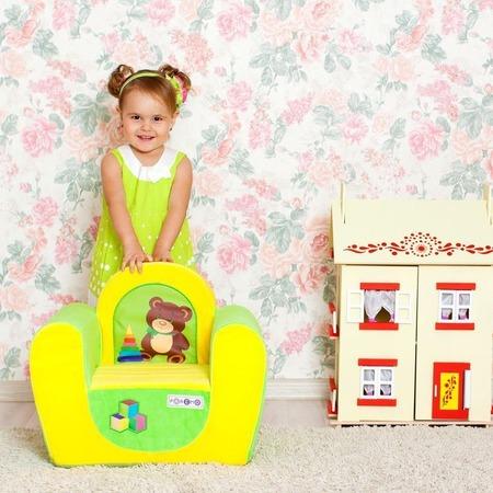 Купить Кресло детское PAREMO «Медвежонок»