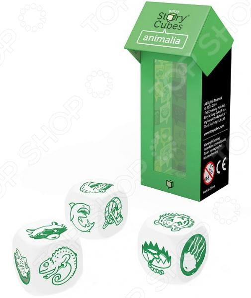 Игра настольная обучающая Rory\'s Story Cubes «Кубики историй. Животные» Игра настольная обучающая Rory\'s Story Cubes «Кубики историй. Животные» /