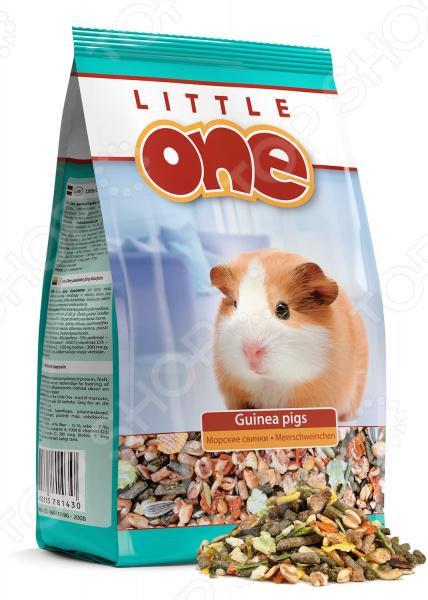 Корм для морских свинок Little One с витаминами и минералами little one little one корм для морских свинок 25кг