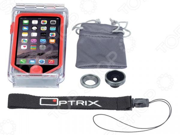 Набор аксессуаров для смартфона Optrix Photo для iPhone 5s optrix bg black red защитная сумка для смартфона