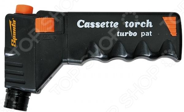 Горелка газовая SPARTA «Турбо» 914305 горелка насадка газовая портативная пьезоподжигом огниво