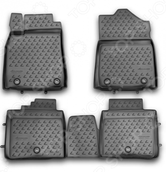 Комплект ковриков в салон автомобиля Novline-Autofamily Lexus ES 250 / 350 300h 2012