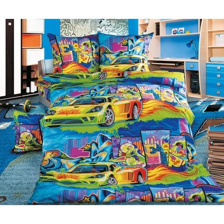 Купить Детский комплект постельного белья Бамбино «Граффити»