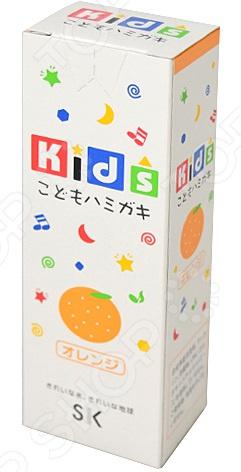 Зубная паста детская SK Kids с ароматом апельсина