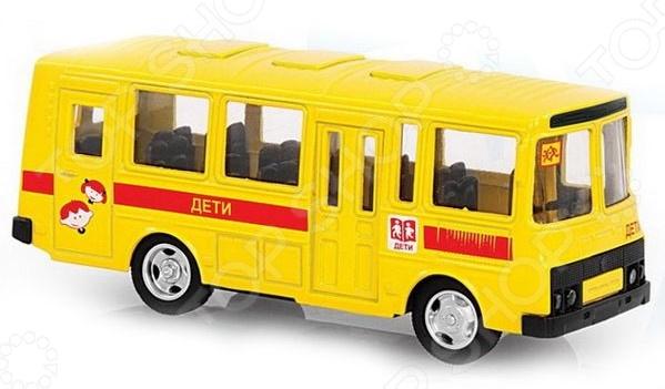 Машина инерционная PlaySmart «Автобус: дети»