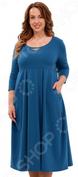 Платье Матекс «Гретта». Цвет: аквамарин костюм матекс роскошная женщина цвет аквамарин