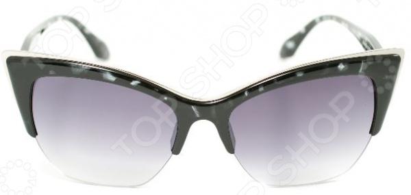 Очки солнцезащитные Mitya Veselkov «Бабочка» с узором очки солнцезащитные mitya veselkov цвет черный msk 1303