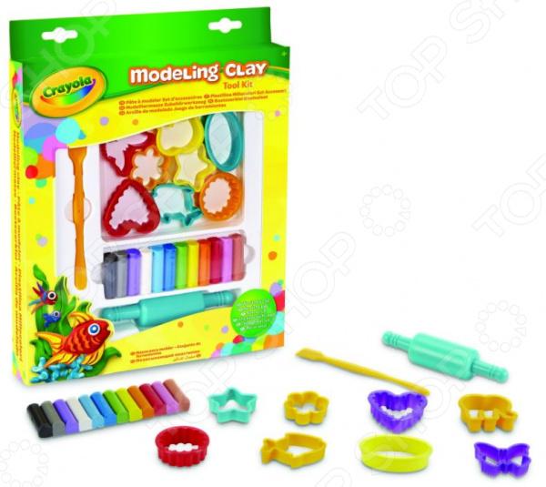 Набор для лепки из пластилина Crayola 1013273 набор для лепки crayola 57 0320n