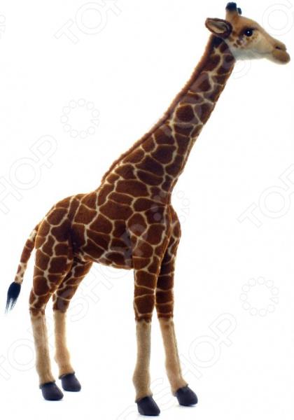 Мягкая игрушка Hansa «Жираф» 5256 мягкие игрушки hansa жираф 70 см