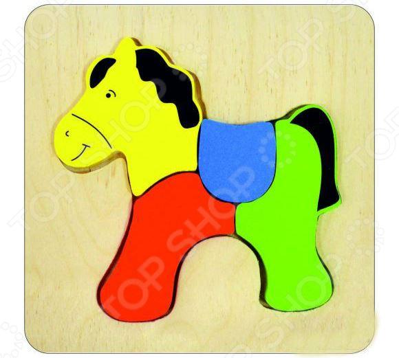 Пазл для малышей Alatoys «Лошадка»