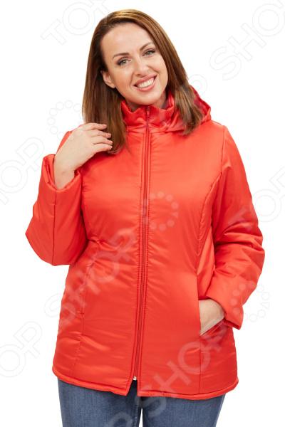 Куртка СВМ-ПРИНТ «Снежная леди». Цвет: красный