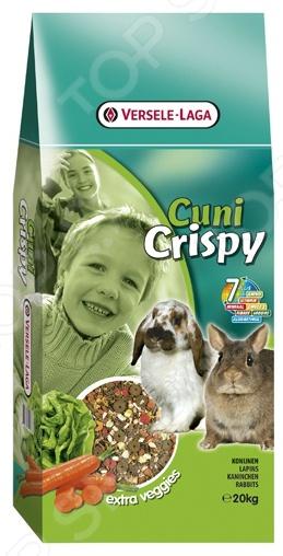 Корм для карликовых кроликов Versele-Laga Cuni Crispy