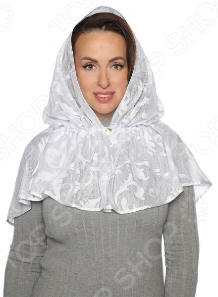 Платок ниспадающий платок «Светлый праздник»