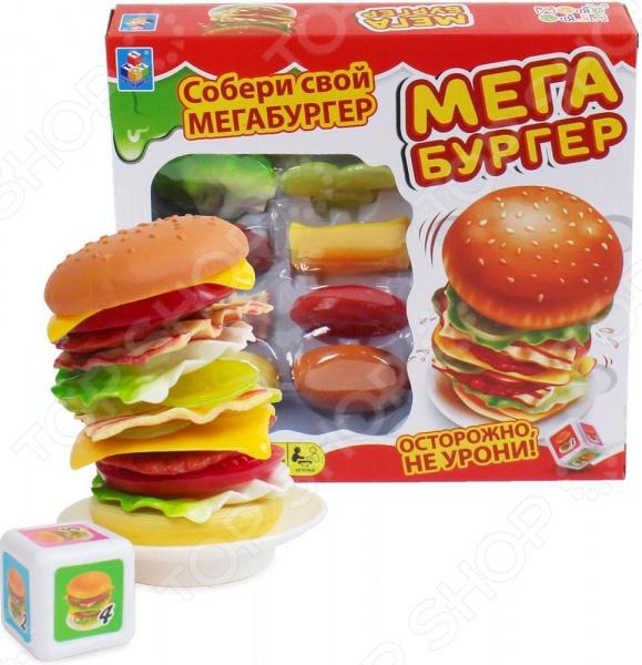 Игра настольная 1 Toy «Мегабургер»