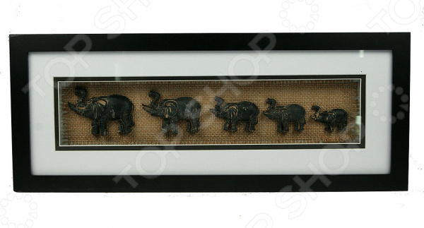Коллаж настенный «Слоны» 126524 - артикул: 941055