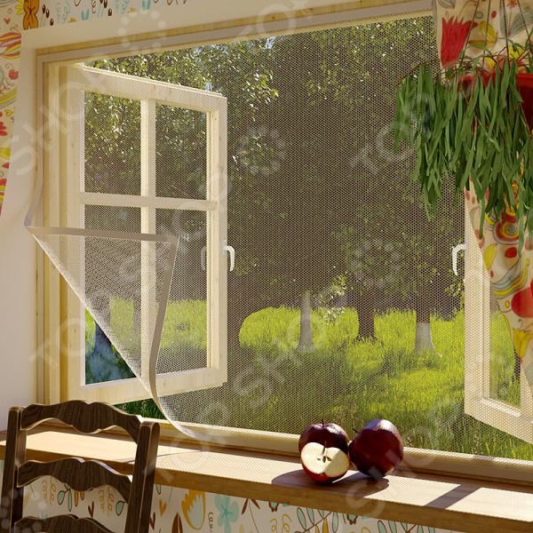 Сетка противомоскитная для окна Сивка Бурка 71-0202
