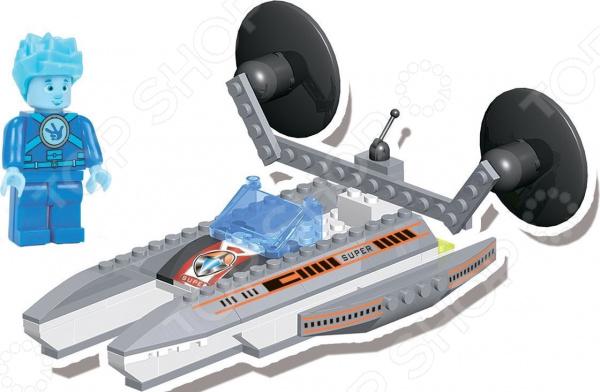 Конструктор для мальчика Город игр «В космосе. Космический корабль будущего» город игр конструктор космический корабль будущего