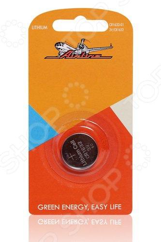 Батарейка для брелоков и сигнализаций литиевая Airline CR1632 элемент питания airline cr2032 01