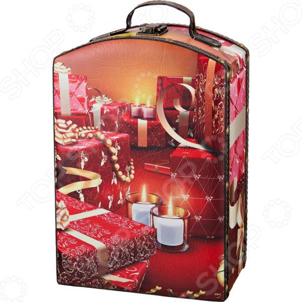 Шкатулка Lefard «Новогодний интерьер» 41-410 интерьер и декор
