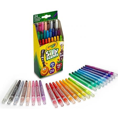 Набор ароматизированных мелков Crayola Twistables