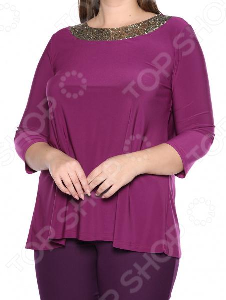 Блуза Лауме-Лайн «Сияющая мечта». Цвет: фиолетовый