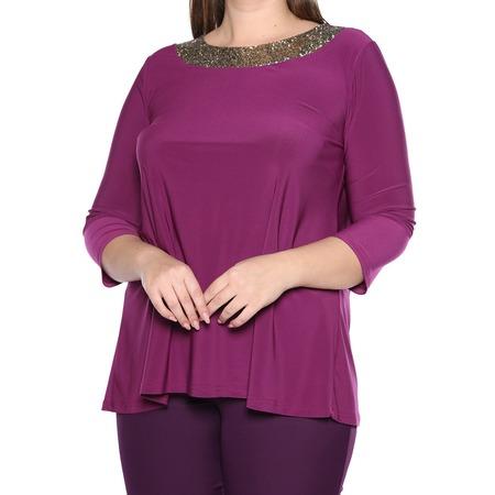 Купить Блуза Лауме-Лайн «Сияющая мечта». Цвет: фиолетовый
