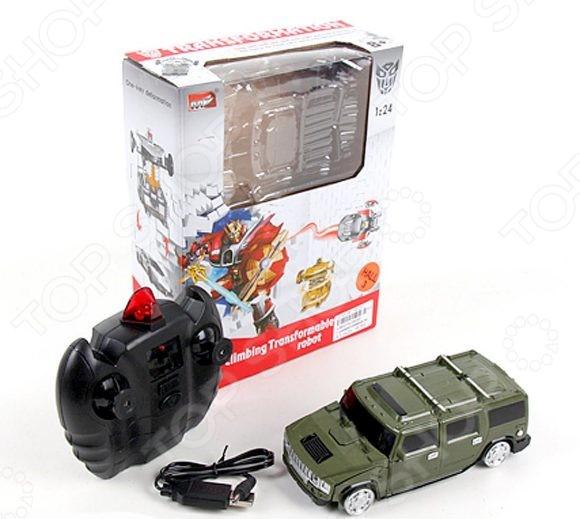 Игрушка-трансформер со световыми эффектами Наша Игрушка «Робот-машина» 2829P. В ассортименте игрушка робот 31 век angelic monster в ассортименте