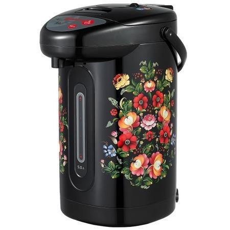 Купить Термопот Sakura SA-345. Рисунок: цветы