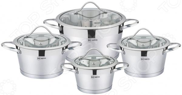 Набор посуды для готовки Rainstahl RS-1081-08 набор посуды rainstahl 8 предметов 0716bh
