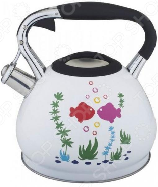 Чайник со свистком Bekker BK-S594 Premium